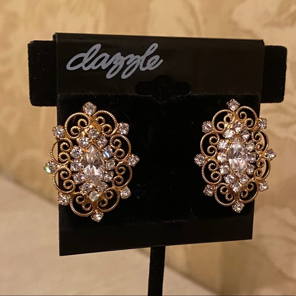 RARE & Vintage Dazzle Earrings. NEVER USED